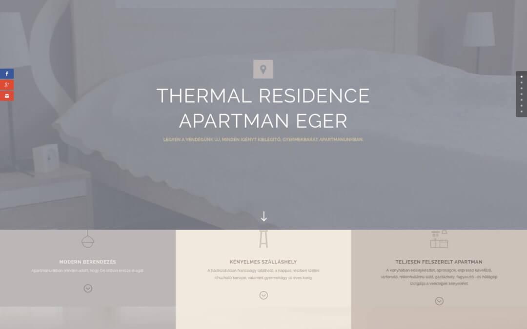 thermalresidence.hu weboldal