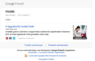 Mire jó a Google Alerts? – Google Értesítő bemutatása