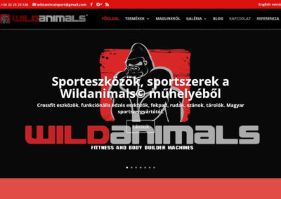 wildanimals.hu weboldal